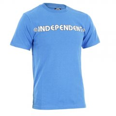 Independent Mens Independent Bar Cross Tee Royal product image