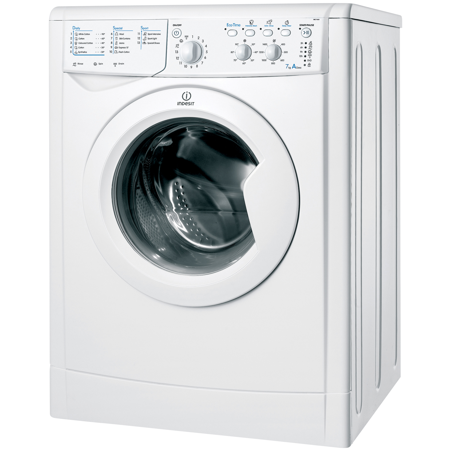 indesit iwc71450 washing machine review compare prices. Black Bedroom Furniture Sets. Home Design Ideas