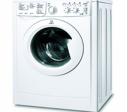 indesit iwdc6125 white washer dryer review compare prices buy online. Black Bedroom Furniture Sets. Home Design Ideas