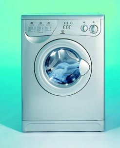 INDESIT W123S(UK) (SILVER)