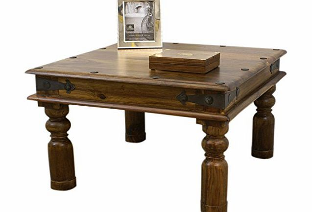 Indian mercers furniture indian lamp table 60 x 60 cm - Table largeur 60 cm ...