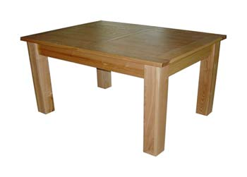 Ash extending dining table for Extendable dining table india