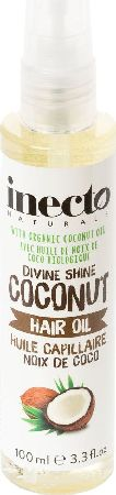 Inecto, 2102[^]0139589 Naturals Coconut Hair Oil