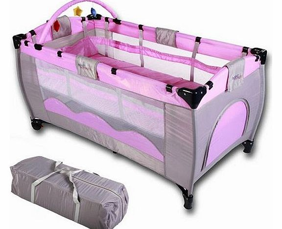 Infantastic 174 baby bed travel cot furniture cribs portable child bed