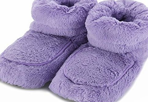 Intelex Hot Boots Microwaveable Warmers Purple