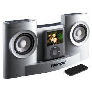 Unplugged iPod dock Silver