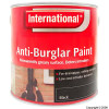 Black Anti-Burglar Paint 2.5Ltr