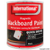Black Magnetic Blackboard Paint