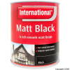 Matt Black Paint 750ml