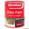 Quick Drying Bright Red Floor