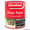 Quick Drying Jet Black Floor Paint