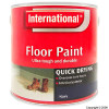 Quick Drying Navy Floor Paint 2.5Ltr