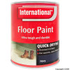 Quick Drying Navy Floor Paint 750ml