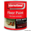 Quick Drying Tile Red Floor Paint