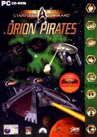 Interplay StarTrek Starfleet Command Orion Pirates PC