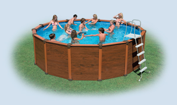 Intex swimming pools for Intex sequoia