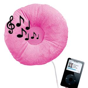 Music centre for Music speaker pillow
