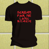 T-shirt Live After Death Scream For