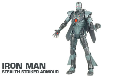 iron man Movie Concept Series 15cm Action Figures - Iron Man Stealth Striker Armour