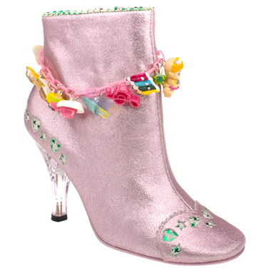 Irregular Choice Lucky Charms Ankle Boot