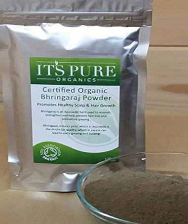 Its Pure Organics Organic Bhringaraj Powder