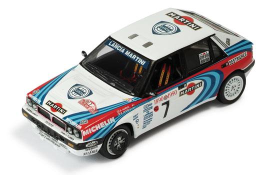 Rally Car Models · Lancia Delta Integrale 16V #7 D.Auriol-Occelli