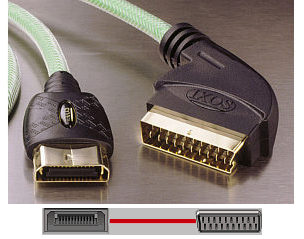 Ixos XPX01 - Xbox to Scart Cable - 2m product image