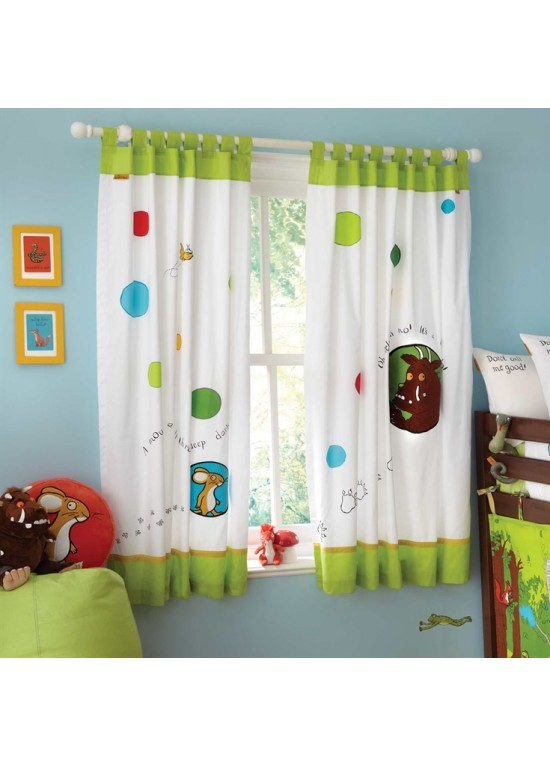 Gruffalo Tab Top Curtains (132 x 163cm)