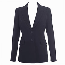 Navy tailored jacket