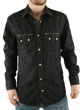 Jack & Jones Jack and Jones Denim Blue Denim Wicked Shirt product image