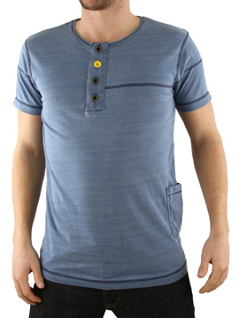 Jack & Jones Jack and Jones Denim Blue Spinner T-Shirt product image