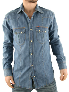 Jack & Jones Jack and Jones Light Blue Denim Wicked Shirt product image