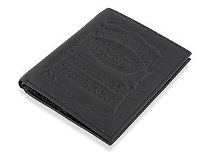 `A useful, fully featured, folding black leather wallet, with lots of pockets for notes and credit c - CLICK FOR MORE INFORMATION