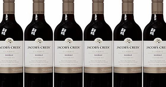Jacobs Creek 2015 Classic Shiraz Wine, 75 cl (Case of 6)