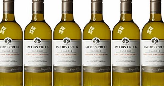 Jacobs Creek 2015 Semillon Chardonnay White Wine, 75 cl (Case of 6)
