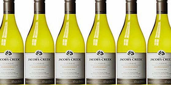 Jacobs Creek Classic Chardonnay 2015, 75 cl (Case of 6)