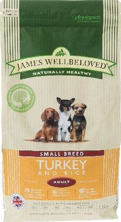 James Wellbeloved, 2102[^]0138545 Adult Small Breed Kibble