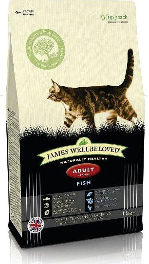 James Wellbeloved, 2102[^]0138578 Cat Adult Kibble Fish and Rice
