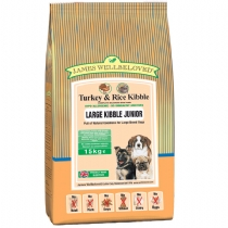 Dog Junior Large Breed Turkey - CLICK FOR MORE INFORMATION