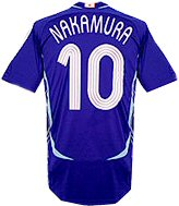 Authentic�Nakamura�hero shirt�Japan home 06/07 available in sizes S M L XL XXL.. Shirt manufactured - CLICK FOR MORE INFORMATION