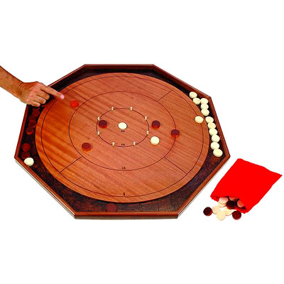 Jaques Crokinole Board Game (70cm Grand Crokinole product image