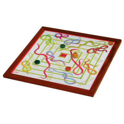 Jaques Indoor Snakes and Ladders (23 Large product image