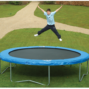 jaques jumpstar flyer 12ft trampoline outdoor game trampoline review compare prices buy online. Black Bedroom Furniture Sets. Home Design Ideas