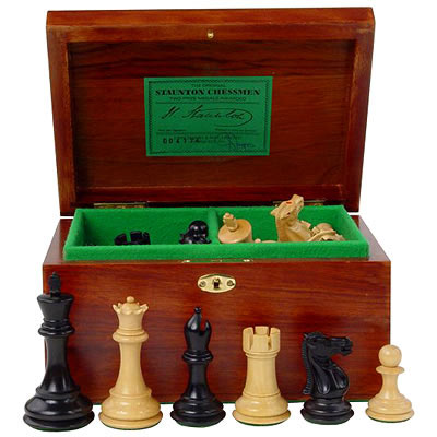 Jaques Original Fischer/Spassky Chess Set (50040 - product image