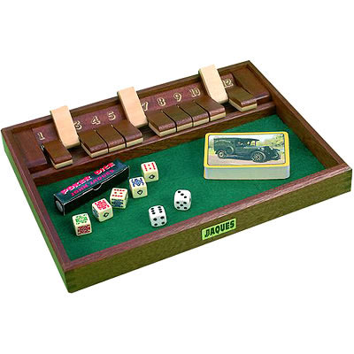 Jaques Shut the Box Compendium (53816 - Shut The Box product image