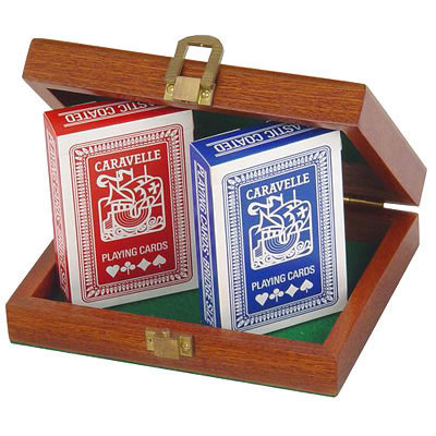 Jaques Twin Pack Playing Cards (Twin Pack Cards in product image