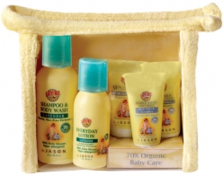 EARTHS BEST BABY CARE TRAVEL KIT (5