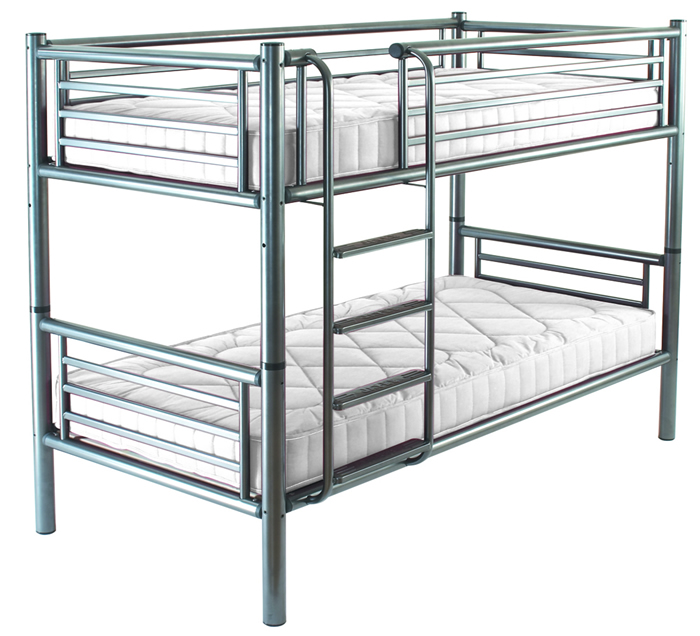 Jay be beds smart duo bunk bed inc 2 x smart mattress for Jay be bunk bed