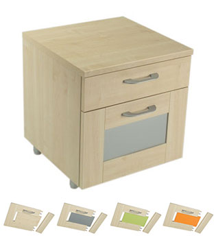 In-Sequence 2 Drawer Bedside Chest