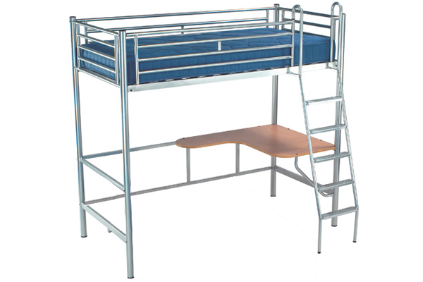 Jaybe studio 3 bunk with desk and mattress bed review for Jay be bunk bed